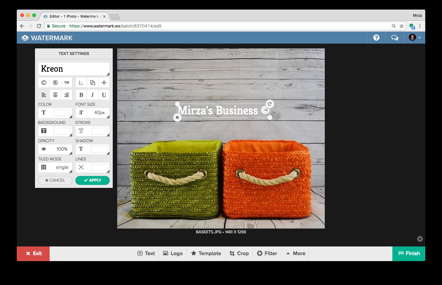 How To Create A Watermark Watermark Blog